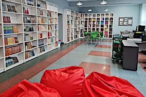 Nowa biblioteka SP-13 w Żorach
